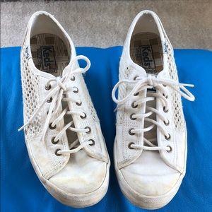 Keds fabric perf sneaker 7.5